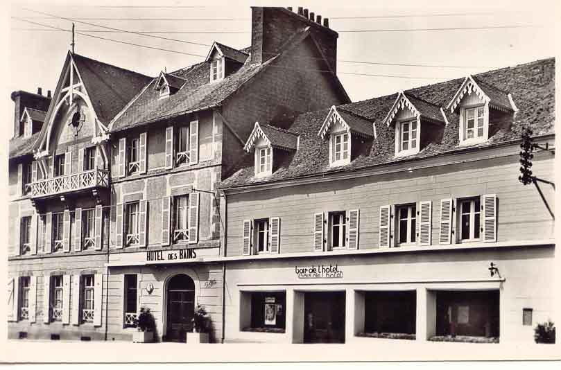 Hotel des bains a brignogan for Gerardmer hotel des bains